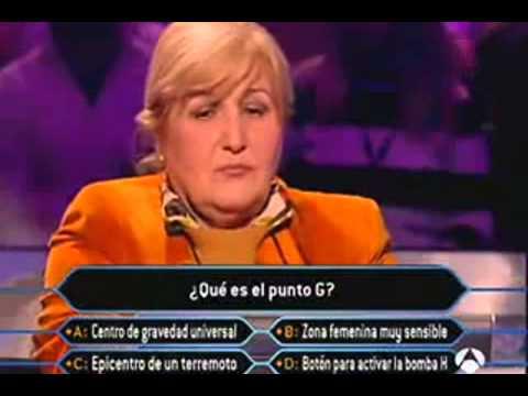 Ai là Triệu phú phiên bản Tây Ban Nha - Điểm G là cái gì?