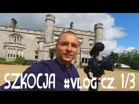 Jak robiłem FILM / TELEDYSK ŚLUBNY w Szkocji | Vlog cz. 1/3 | Sony a7 III backstage wedding video !