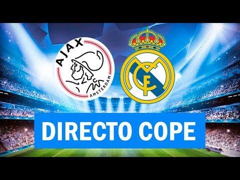 (SOLO AUDIO) Directo del Ajax 1-2 Real Madrid en Tiempo de Juego COPE