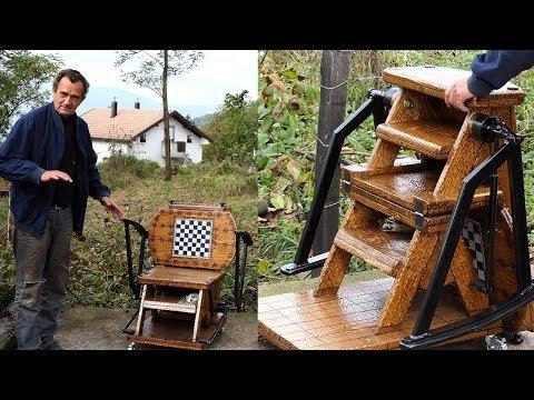 Stolica, stol i ljestve, sve u jednom - svjetski izum