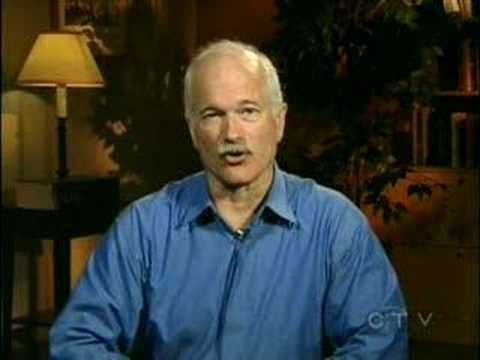 Jack Layton - Opposition to Dion