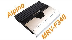 Alpine MRV-F340 Car Amplifier Test