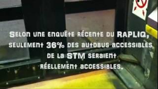 Problème d'accès #87-L'accessibilité des autobus de la STM négligée