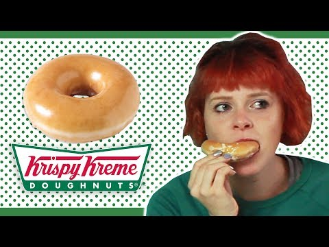 Irish People Try Krispy Kreme Donuts For The First Time