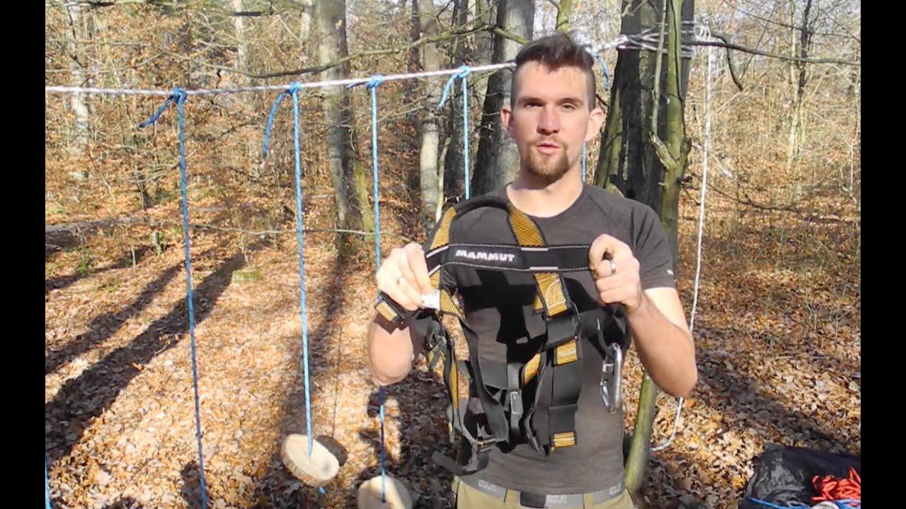 Klettergurt Edelrid Finn : Braucht man einen klettergurt? youtube