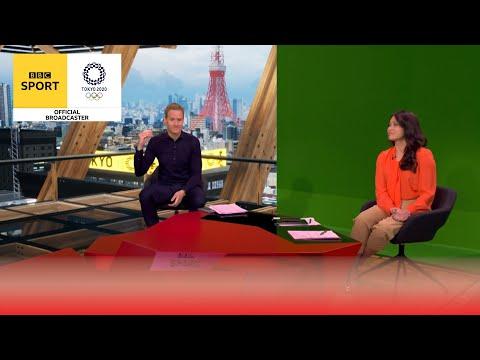 The secrets of the BBC's Tokyo 2020 studio   Tokyo Olympics