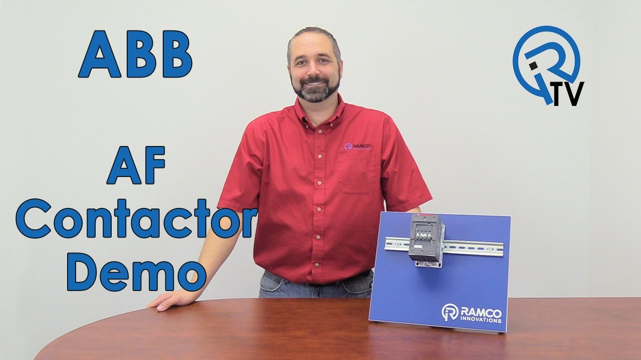 [SCHEMATICS_44OR]  ABB AF Contactor Demo - YouTube | Abb 145 30 Contactor Wiring Diagram |  | YouTube