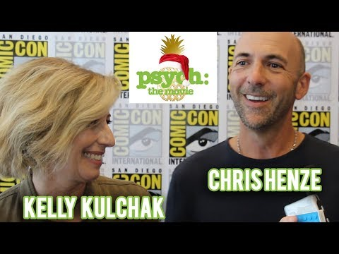 Psych: The Movie - Exec. Producers Kelly Kulchak & Chris Henze Interview