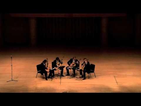 Baltic Guitar Quartet: Invierno porteno - Astor Piazzolla