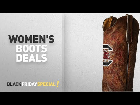 Women's Boots Black Friday Featuring: NCAA South Carolina Fighting Gamecocks Women's 13-Inch Gameday