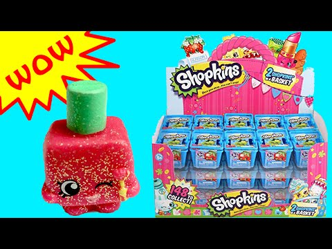 Shopkins Blind Basket Opening with Season 1 ULTRA RARE Shopkins Toy Unboxing