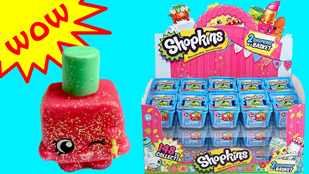 Shopkins Blind Basket Opening With Season 1 Ultra Rare Shopkins Toy