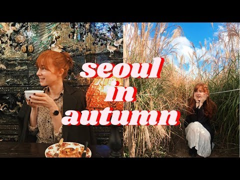 Autumn in Seoul, Korea | What to Do, Wear, and Pack VLOG