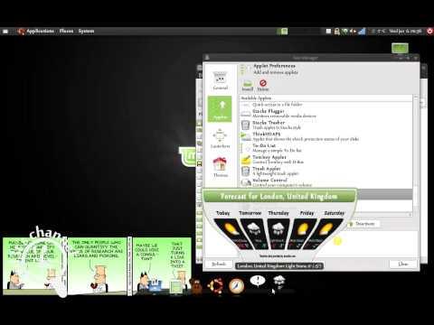 Avant Window Navigator (AVN) - MacOS X style dock bar in Linux