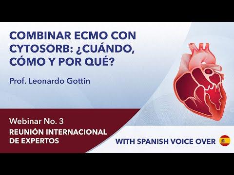 Combinar ECMO con CytoSorb: ¿cuándo, cómo y por qué? | Leonardo Gottin | Webinar 3