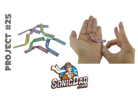 Sonic Micro Boomerang - SonicDad Project #25