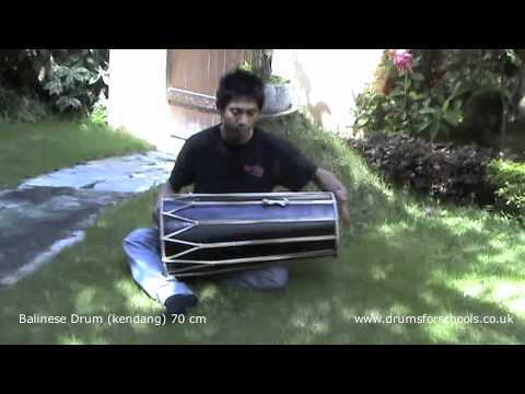 Balinese Drum (Kendang) 70cm