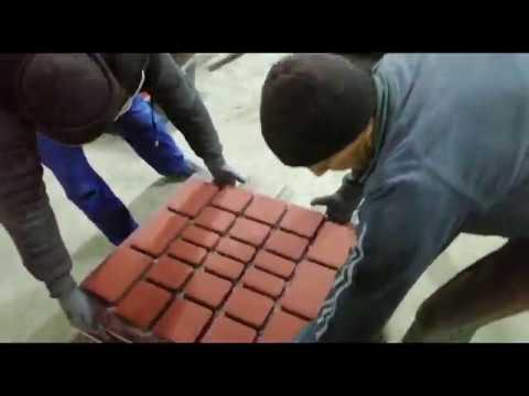 Вибропресс БП-120 производство плитки, бордюров, блоков