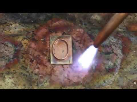 How to solder copper jewelry youtube for How to solder copper jewelry