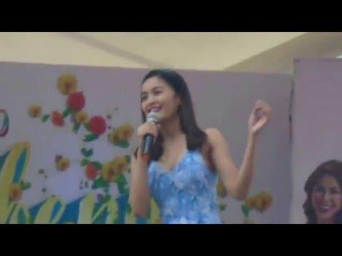 GMA Kapuso Mall Show Kris Bernal Little Nanay