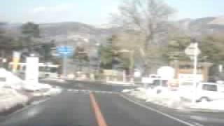篭坂峠~山中湖