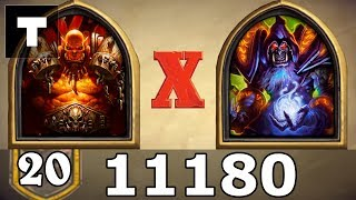 Hearthstone Warrior vs Warlock! Season 2018 December 11180