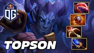 TOPSON RIKI - Dota 2 Pro Gameplay