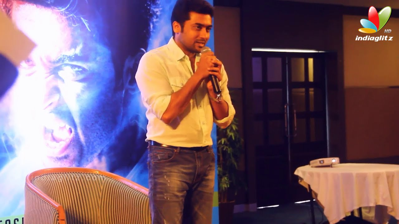Suriya Reveals Details on Upcoming Project with Jyothika | Masss Press Meet at Cochin