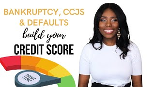 Fix your credit after Bankruptcy, CCJ and Default