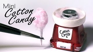 Miniature Cotton Candy Machine - Polymer Clay Tutorial
