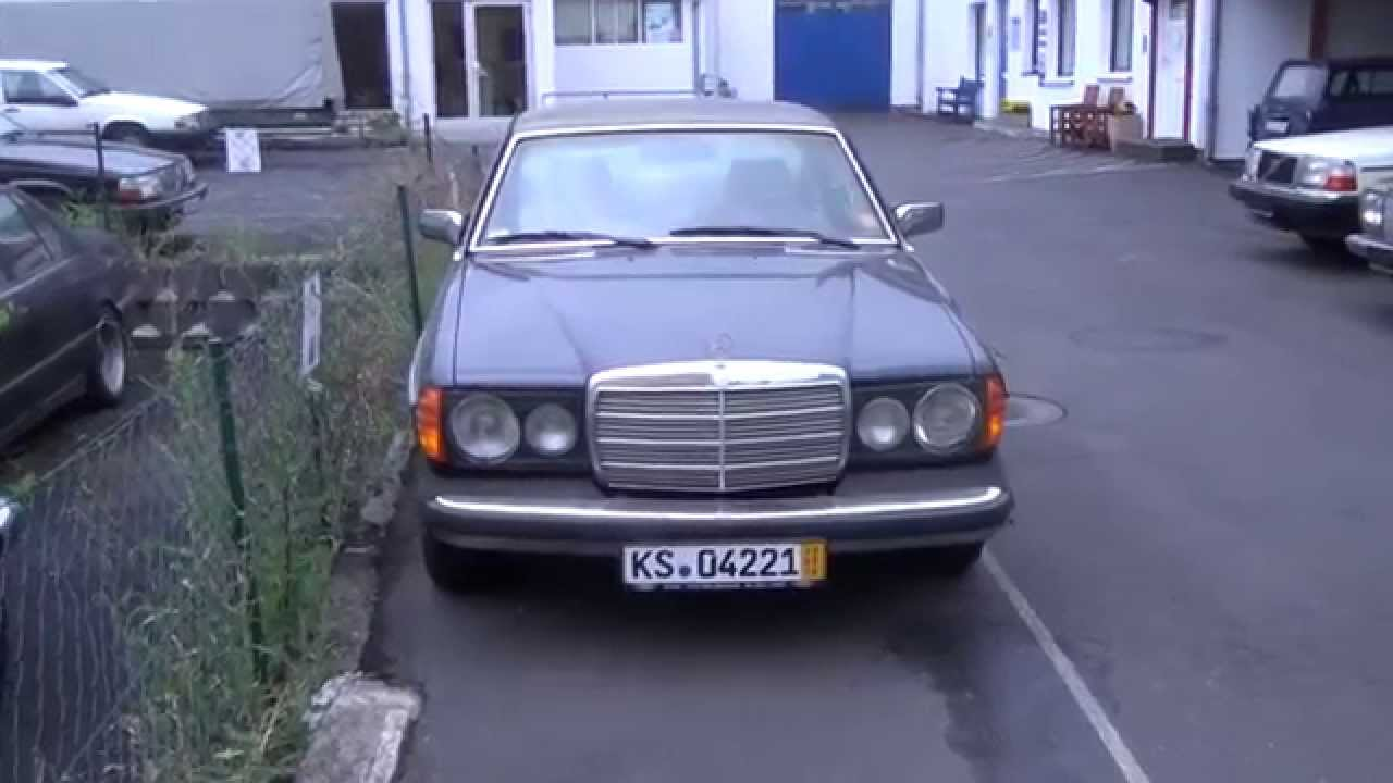 auta z niemiec 14 07 2014 mercedes benz 123 coupe 1981r kassel youtube. Black Bedroom Furniture Sets. Home Design Ideas