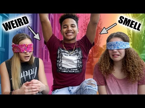 Thumbnail: Weird Smell Challenge! (Liv vs Madison &... Justin?)