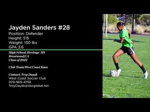 Jayden Soccer Highlight 2019