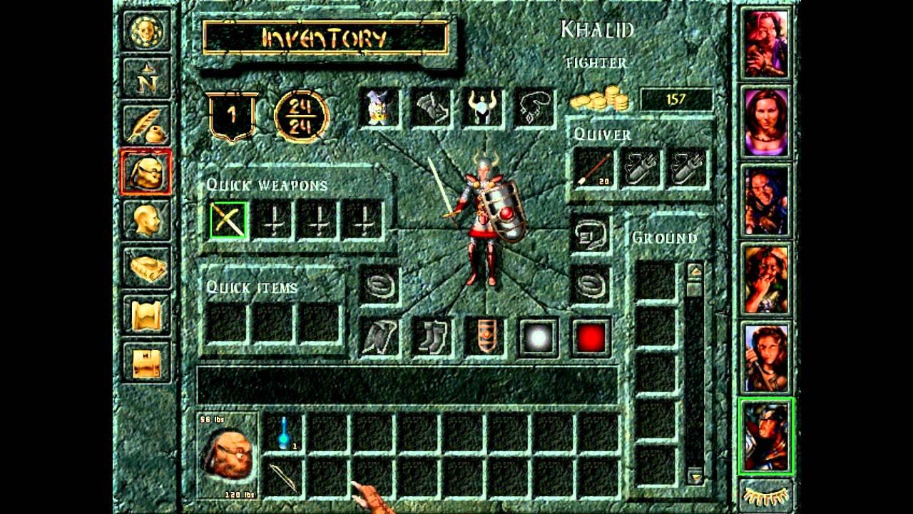 Baldur S Gate Tales Of The Sword Coast 12 Inventory