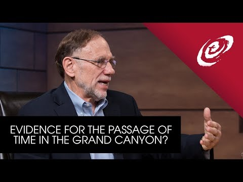 Is There Evidence for the Passage of Time in the Geological Features of the Grand Canyon?