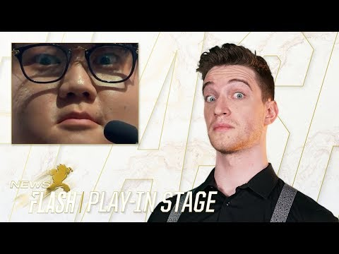 KING HUNI IS BACK|Worlds Newsflash - Play-In Stage