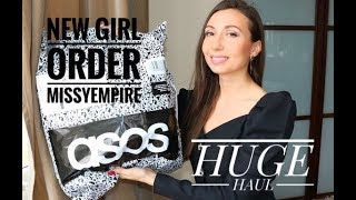 HUGE FASHION ASOS HAUL / NEW GIRL ORDER / MISSYEMPIRE
