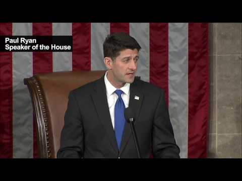 Paul Ryan says he and new US Congress