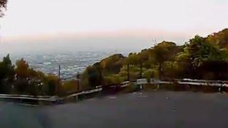 大阪の展望穴場スポット・水呑地蔵尊へ Osaka mountain road drive & 1812 Overture
