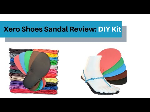 Minimalist Sandal Review: Xero Shoes DIY FeelTrue Sandal Kit
