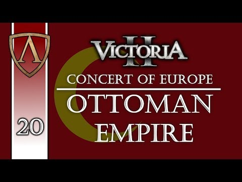 Let's Play Victoria 2 Concert of Europe | Ottoman Empire 20
