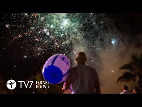 Israel celebrates its 70th Independence Day - TV7 Israel News 18.04.18