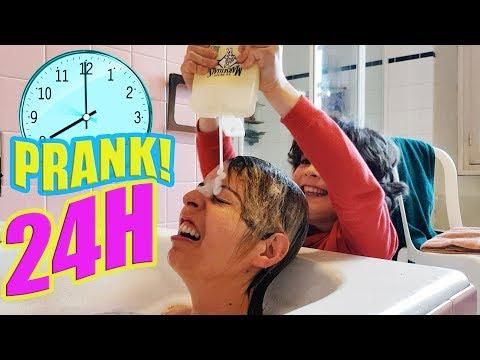 SHAMPOO PRANK! - Fantin PRANK MAMAN pendant 24H  - COMPILATION des meilleures BLAGUES!