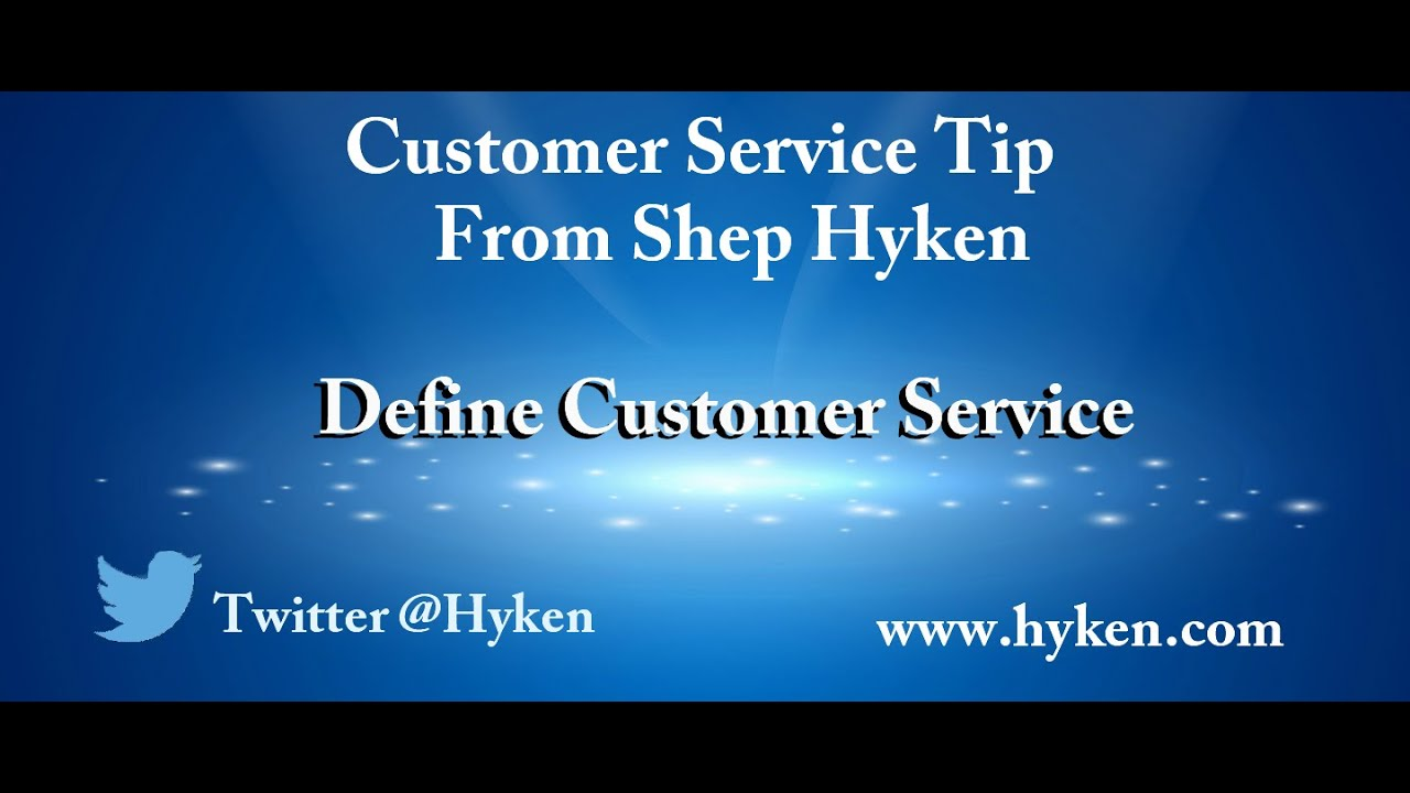 Customer service definition yahoo
