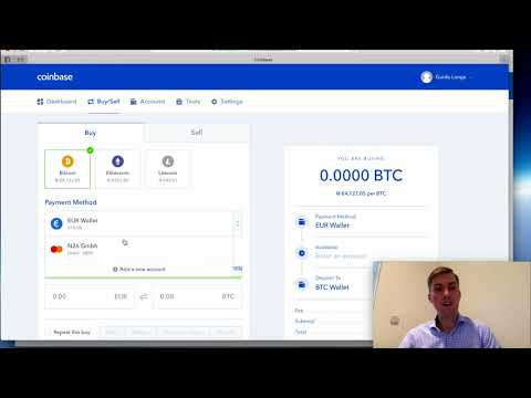 Tutorial: Der Einfachste Weg Bitcoin Zu Kaufen (Coinbase)