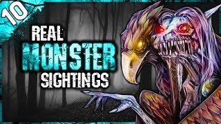 10 REAL Skinwalker, Wendigo, and Werewolf Sightings | Darkness Prevails
