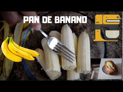 Como Hacer pan de Guineo, Banana estilo Honduras.