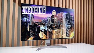"Unboxing LG 32UD99-W - 32"" 4K IPS Monitor - With HDR10 and Ultra-thin bezels"