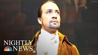 'Hamilton' Begins Three-Week Run In Puerto Rico, With Lin-Manuel Miranda | NBC Nightly News