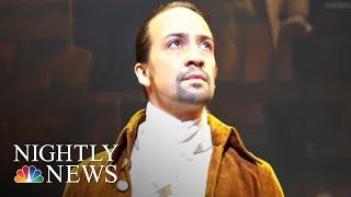'hamilton' Begins Three-week Run In Puerto Rico, With Lin-manuel Miranda  Nbc Nightly News